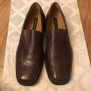 Men's Leather brown loafers 👞